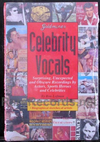 goldmine's celebrity vocals book