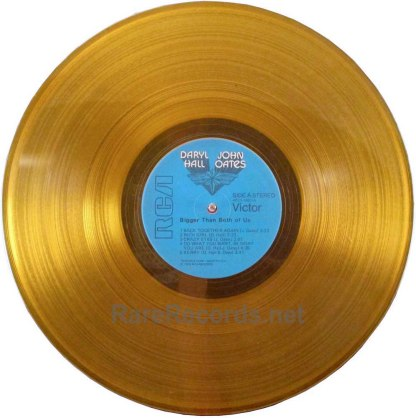 daryl hall and john oates- bigger than both of us colored vinyl lp