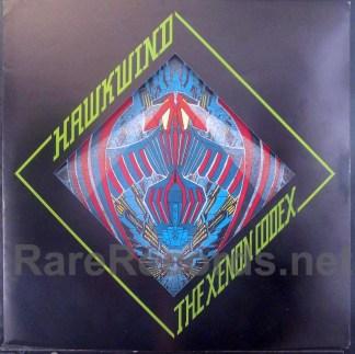 hawkwind - the xenon codex uk lp