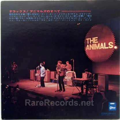 Animals - All About the Animals Japan-only LP with obi