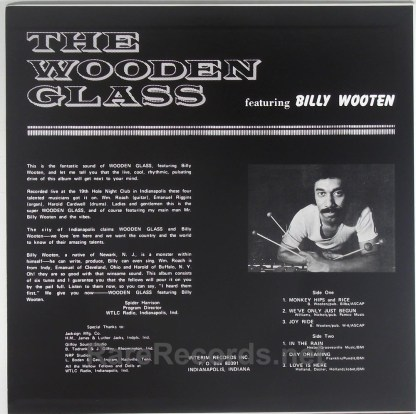 Billy Wooten - The Wooden Glass Recorded Live Japan LP with obi
