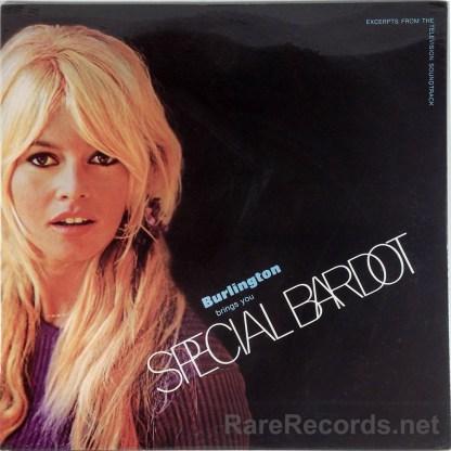 Brigitte Bardot - Special Bardot sealed promo-only 1968 soundtrack LP