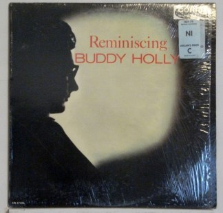 Buddy Holly - Reminiscing 1963 mono LP with cover in shrink