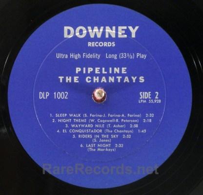 Chantays - Pipeline 1963 Downey mono LP