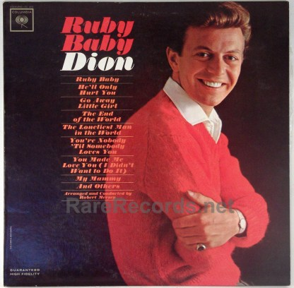 Dion - Ruby Baby original 1963 mono LP