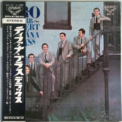 Herb Alpert / Tijuana Brass - SRO original Japan LP with obi