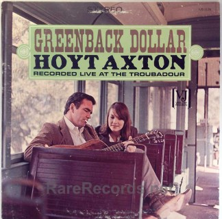 Hoyt Axton - Greenback Dollar 1964 VJ LP