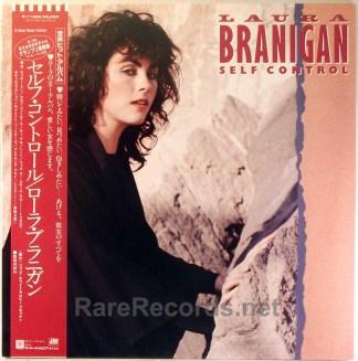 Laura Branigan - Self Control original 1984 Japan LP with obi