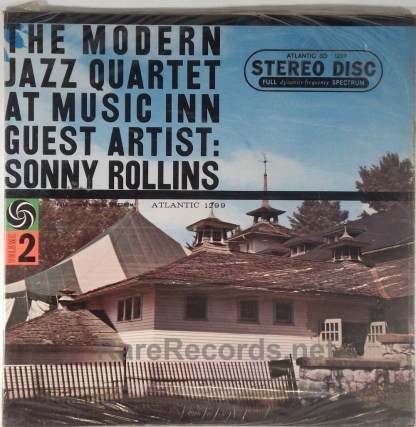 Modern Jazz Quartet - At Music Inn Volume 2 sealed stereo 1959 LP