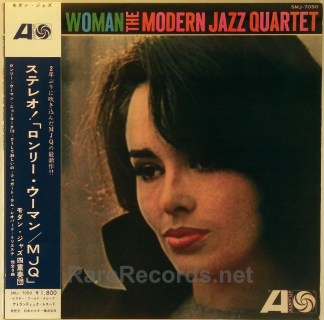Modern Jazz Quartet - Lonely Woman 1962 Japan test pressing with obi