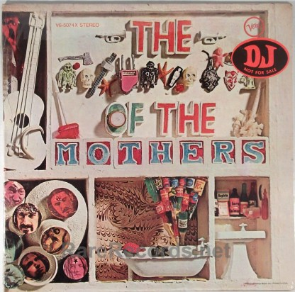 Frank Zappa/Mothers - **** of the Mothers sealed promo 1969 LP