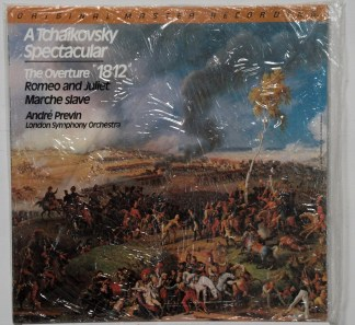 Previn/LSO - 1812 Overture sealed Mobile Fidelity LP
