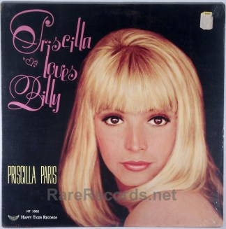 Priscilla Paris - Priscilla Loves Billy sealed 1969 LP