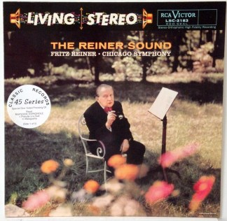 Reiner/CSO - The Reiner Sound Classic Records 5 LP 45 RPM set