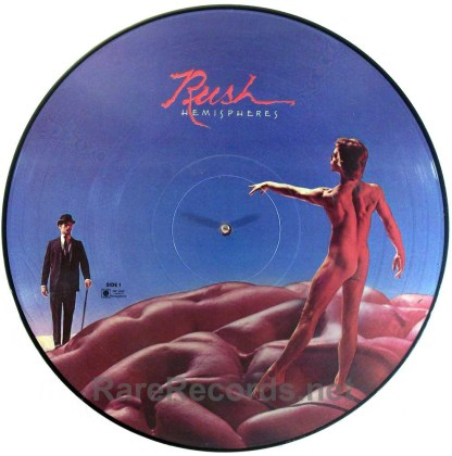 Rush - Hemispheres limited edition 1978 picture disc LP