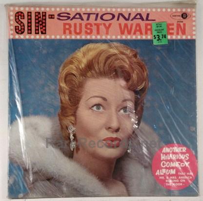Rusty Warren - Sin-Sational sealed original 1961 mono comedy LP