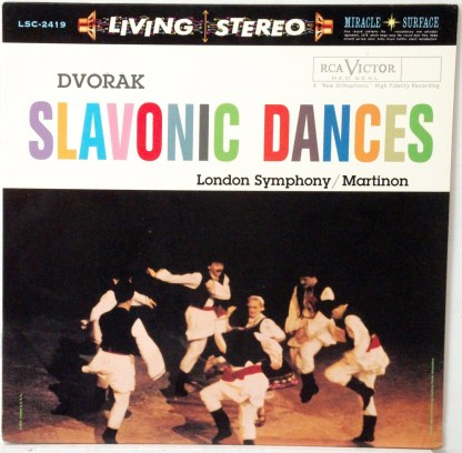 Dvorak - Slavonic Dances - Martinon/LSO Classic Records 180 gram LP