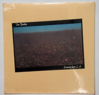 Tim Buckley Greetings From La Sealed White Label Promo