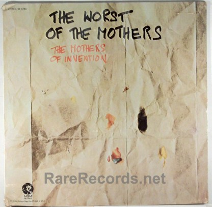 Frank Zappa - The Worst of the Mothers sealed 1971 LP