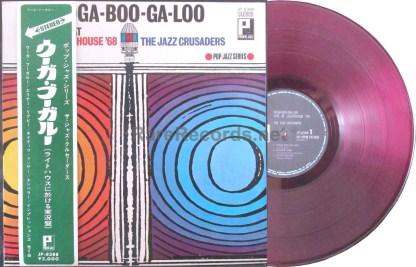 jazz crusaders - ooga-boo-ga-loo japan red vinyl lp