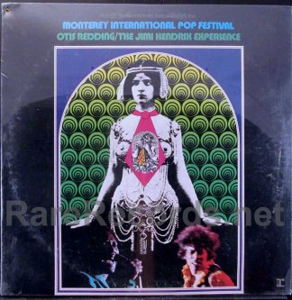jimmy hendrix/otis redding - monerey pop festival lp