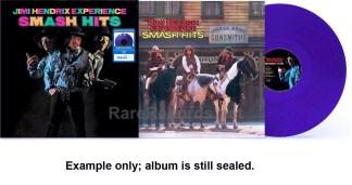 jimi hendrix - smash hits purple vinyl u.s. lp