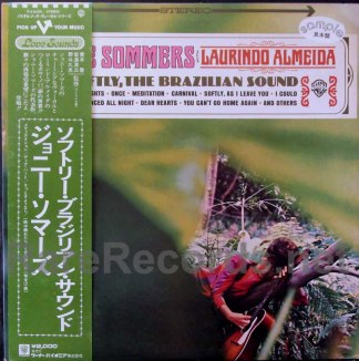 joanie sommers - softly the brazilian sound japan promo lp
