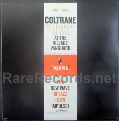john coltrane - live at the village vanguard japan lp