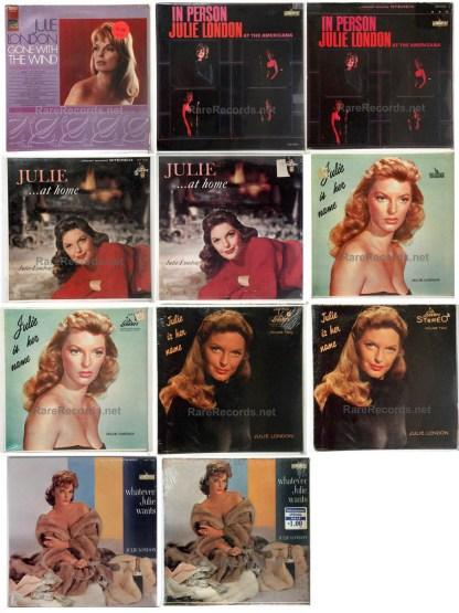 julie london album collection