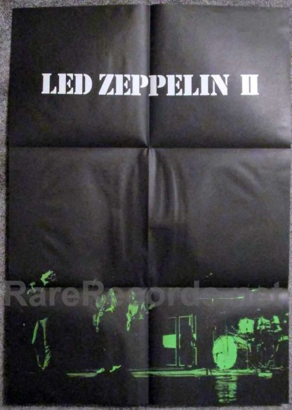 led zeppelin - II japan poster