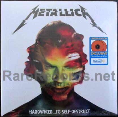 metallica - hardwired to self-destruct orange vinyl u.s. lp