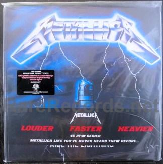 metallica -ride the lightning u.s. 45 rpm 2 LP set