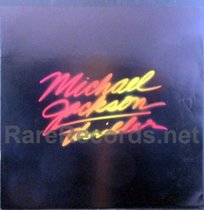 michael jackson - thriller japan lp