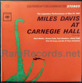 miles davis - at carnegie hall u.s. LP