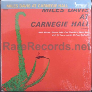 miles davis - miles davis at carnegie hall japan lp