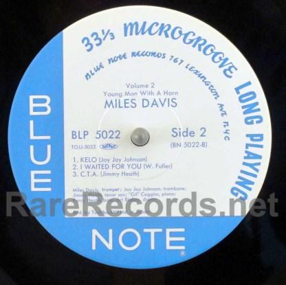 miles davis - vol 2 japan LP