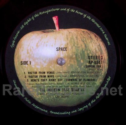 mjq - space japan red vinyl lp