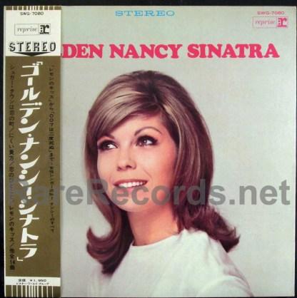 nancy sinatra - golden nancy sinatra japan lp