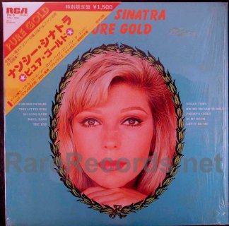 nancy sinatra - pure gold japan lp