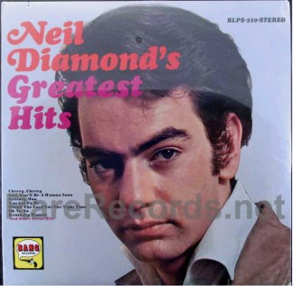 neil diamond - greatest hits LP