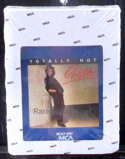 olivia newton-john - totally hot 8 track tape