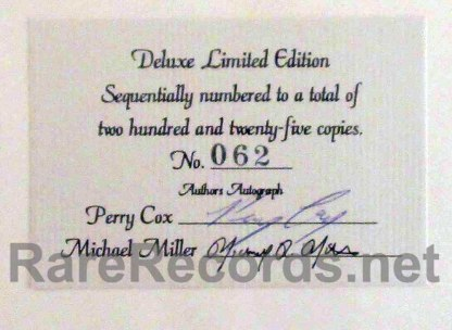 perry cox = beatles price guide signed