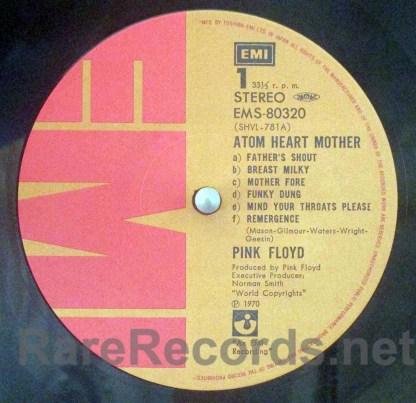 Pink Floyd - Atom Heart Mother Japan LP