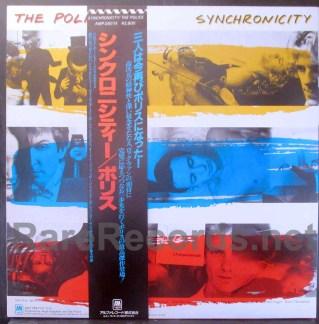 police - synchronicity japan lp