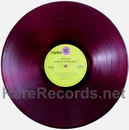 quicksilver messenger service - just for love red vinyl japan lp