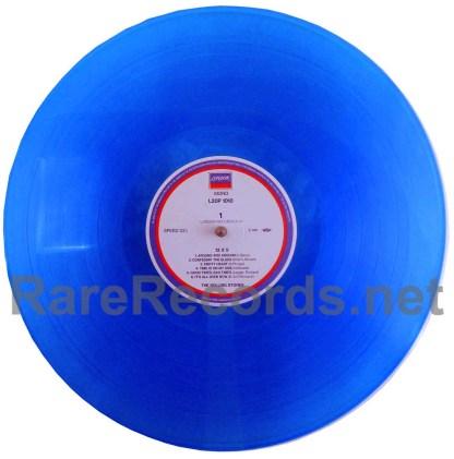 rolling stones - 12x5 blue vinyl japan LP