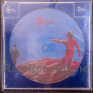 rush - hemispheres u.s. picture disc lp