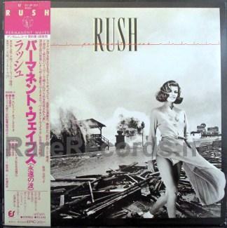 rush - permanent waves japan promo lp
