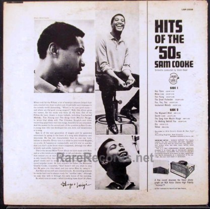 sam cooke - hits of the 50s LP
