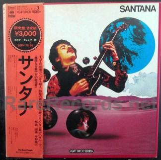 santana - gift pack japan lp